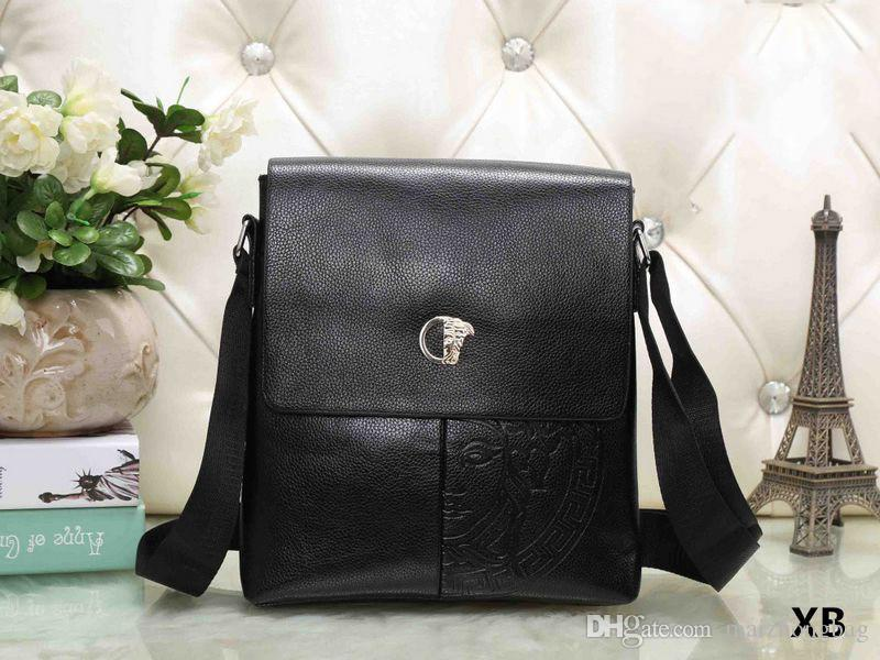 d46f7241dac4 2018 Men Designer Messenger Crossbody Bag Luxury Brand Handbags Tote Clutch  Bags Pu Leather Business Fashion Style Cross Body Purses Cheap Designer  Handbags ...