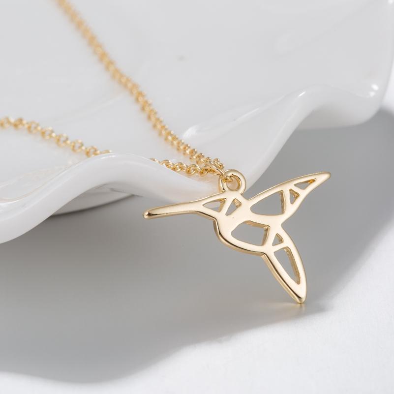 Wholesale Whole Salehfarich Fashion Origami Hummingbird Jewelry