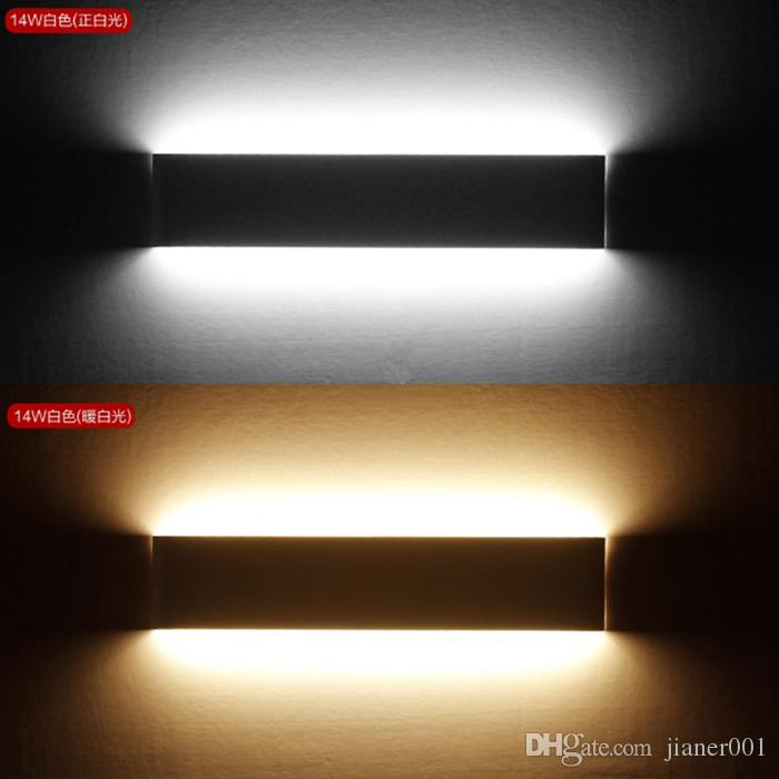 bright indoor wall lights led wall 2018 led wall light 14w high bright modern indoor sconce lighting lamp hallway stairs hotels lights warm white from jianer001