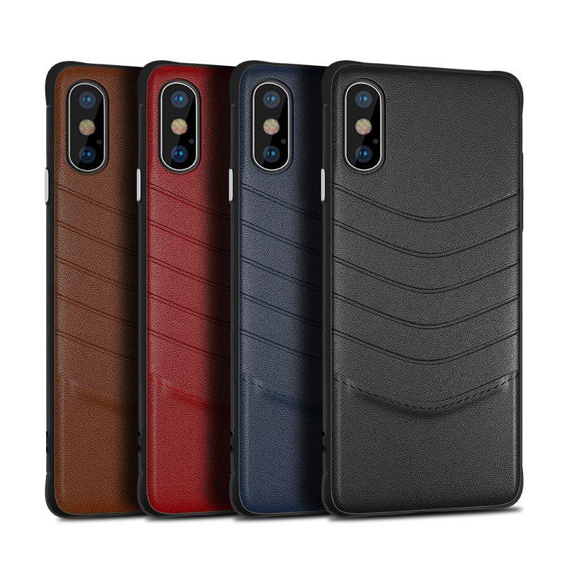 b5a27065bd1 Fundas Para Moviles Chinos Nuevo Estuche De Cuero De Lujo Para Iphone XR XS  MAX X 6S 7 8 Plus Funda Para Celular Para Samsung Galaxy S8 S9 Plus Note 8  9 ...