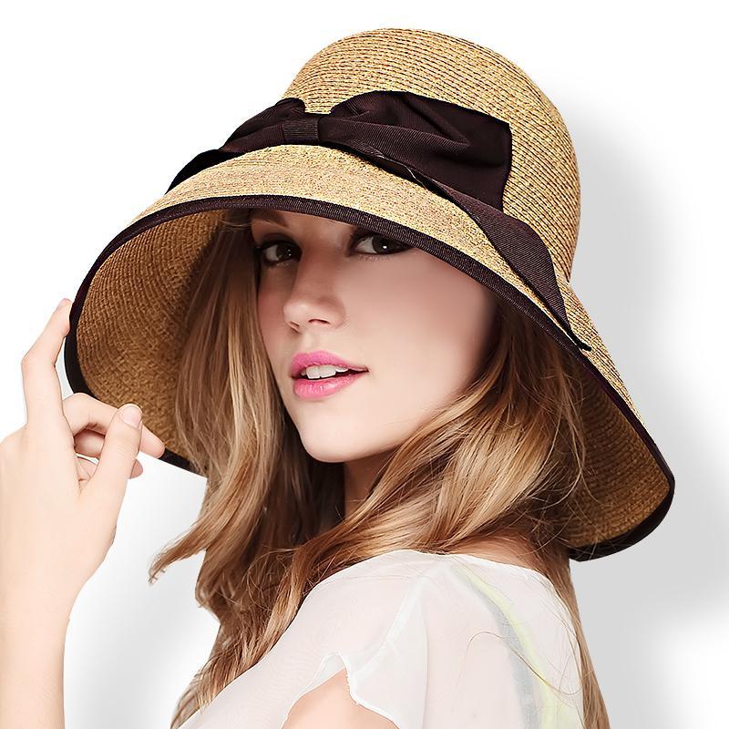 New Arrival Fashion Sun Hats Women Vacation Summer Beach Cap Female Straw  Raffia Cap High Quality Crochet Hats B 7037 Fishing Hats Funny Hats From  Haydena 383b6d26533