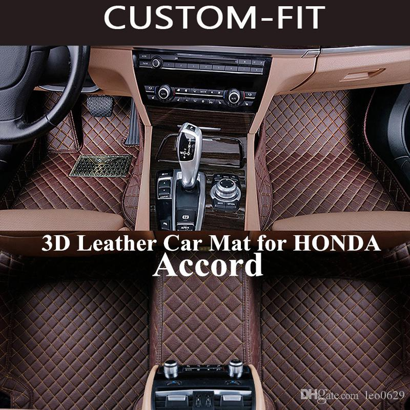 2018 Custom Car Floor Mats For Honda Accord 2008 2010 2014 2016 2017 2018  Accessories Carpet Tapetes Para Automovil Tapete Carro Alfombra Coche From  Leo0629 ...