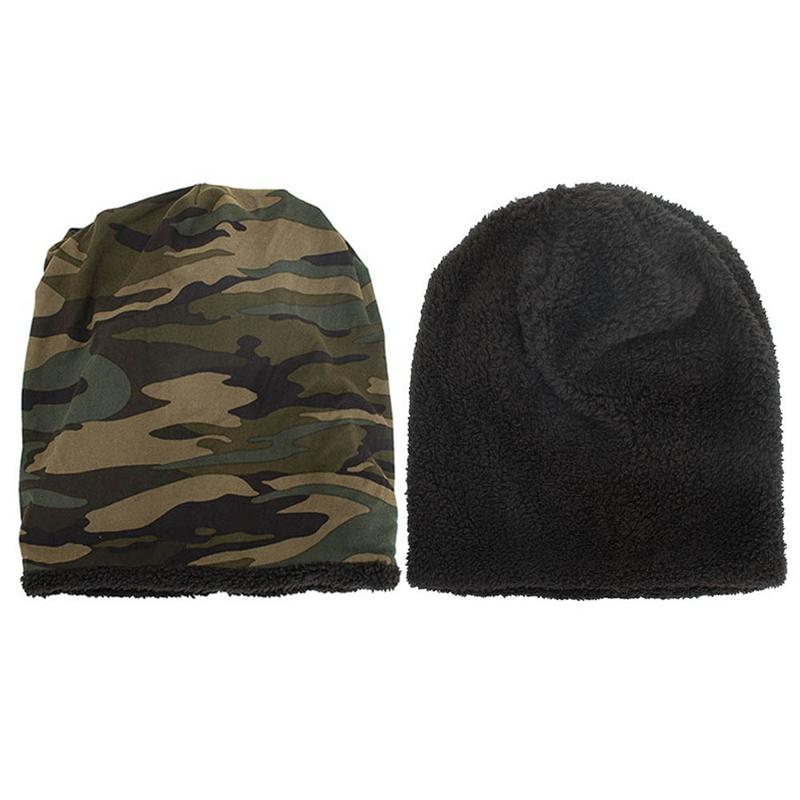 19a00a7aaca 2019 Camouflage Beanie Men Bonnet Bone Head Cap Winter Cotton Skullies Beanies  Caps Hat Bonnet Homme Gorro From Cbaoyu