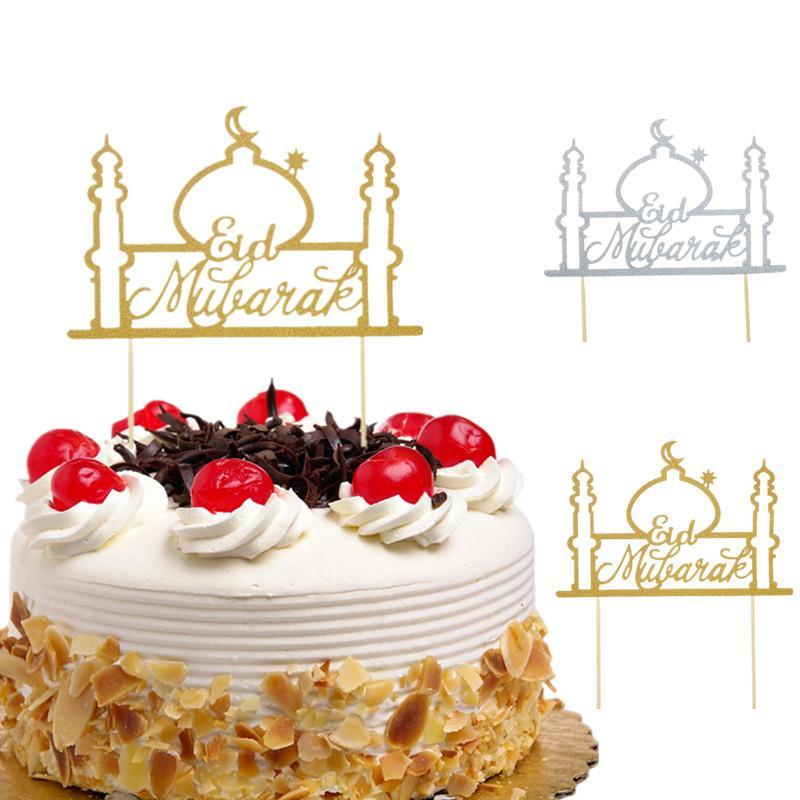 Grosshandel Kuchen Toppers Eid Mubarak Hochzeit Baby Shower