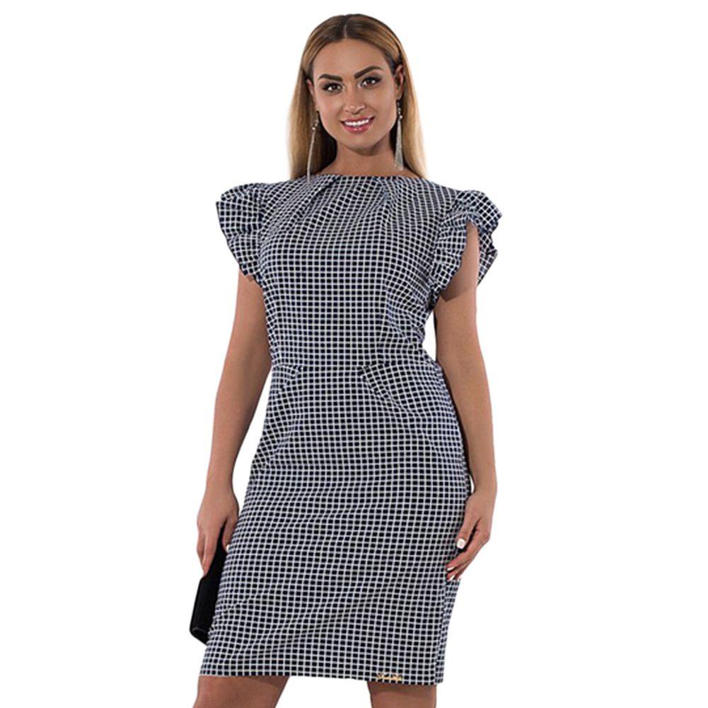 Vestidos a cuadros para mujer