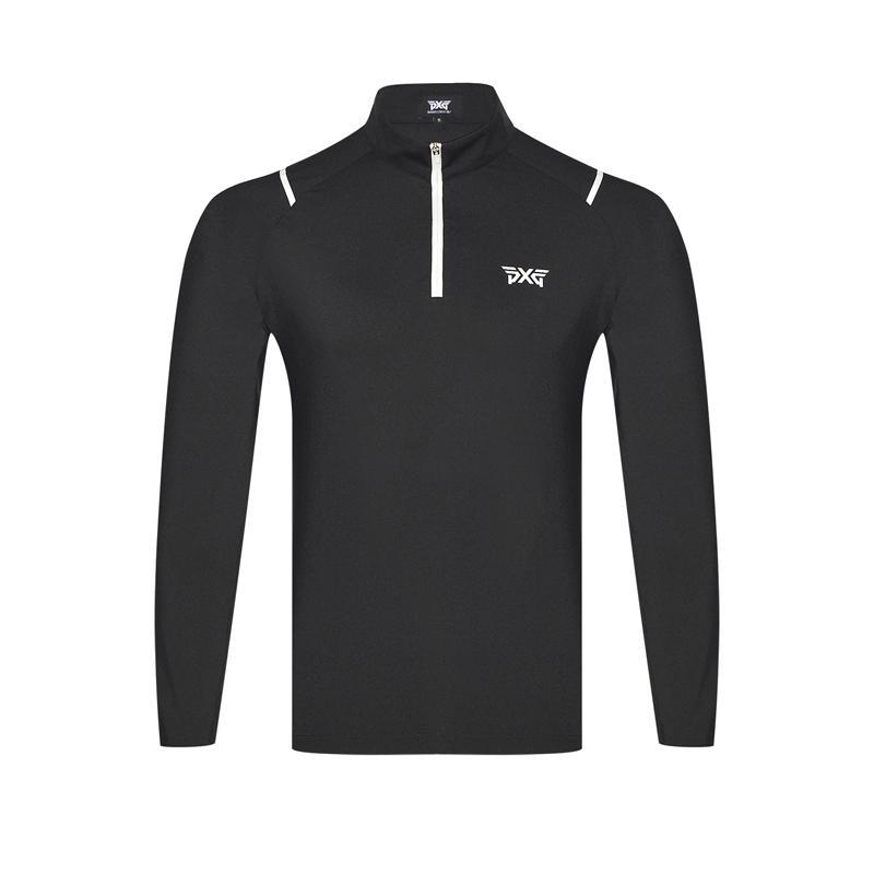 60a6d74d 2018 Men Golf shirts 3 Colors Autumn Long Sleeve Golf T Shirt Zipper  Breathable Sportswear Men'S Polo Shirts Tops Brand Shirt