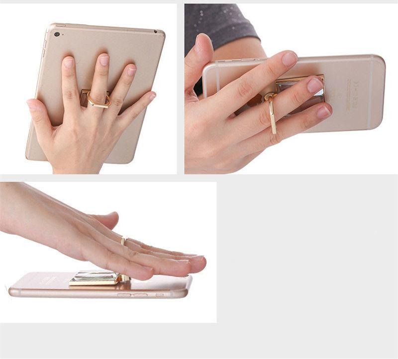 Metalluniversaler Handyhalter für Sublimation DIY personifizierte kundengebundene unbelegte Ringtaste für iPhone für Sumsung Großverkauf