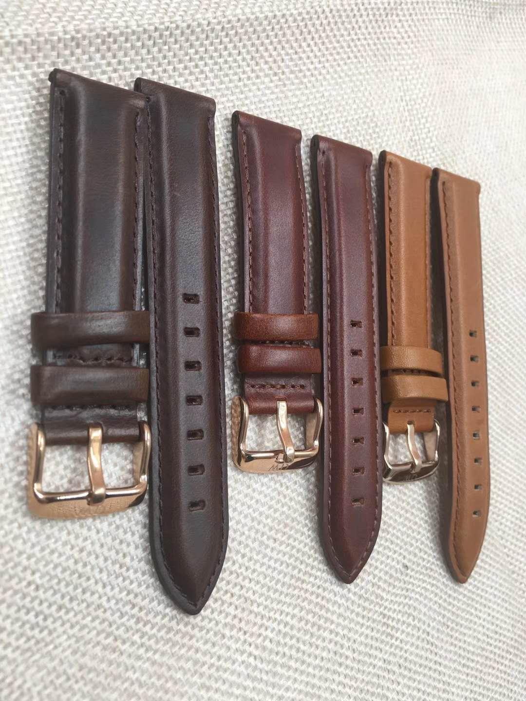 68fbd663b High Quality Men'S Daniel Wellington Watch Leather Strap 20MM Rose Gold  Buckle Quartz Brand Watch Strap For DW Watch Fabric Watch Bands Cloth Watch  Bands ...