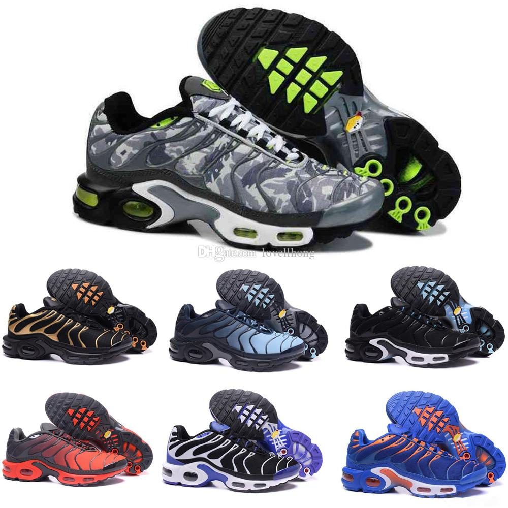 huge selection of 1ef82 09e4f nike TN plus air max airmax AIR 2018 NEW TN Plus Olive in argento  metallizzato bianco Colorways Scarpe Uomo Donna TN Casual Triple Nero airs  Shoes