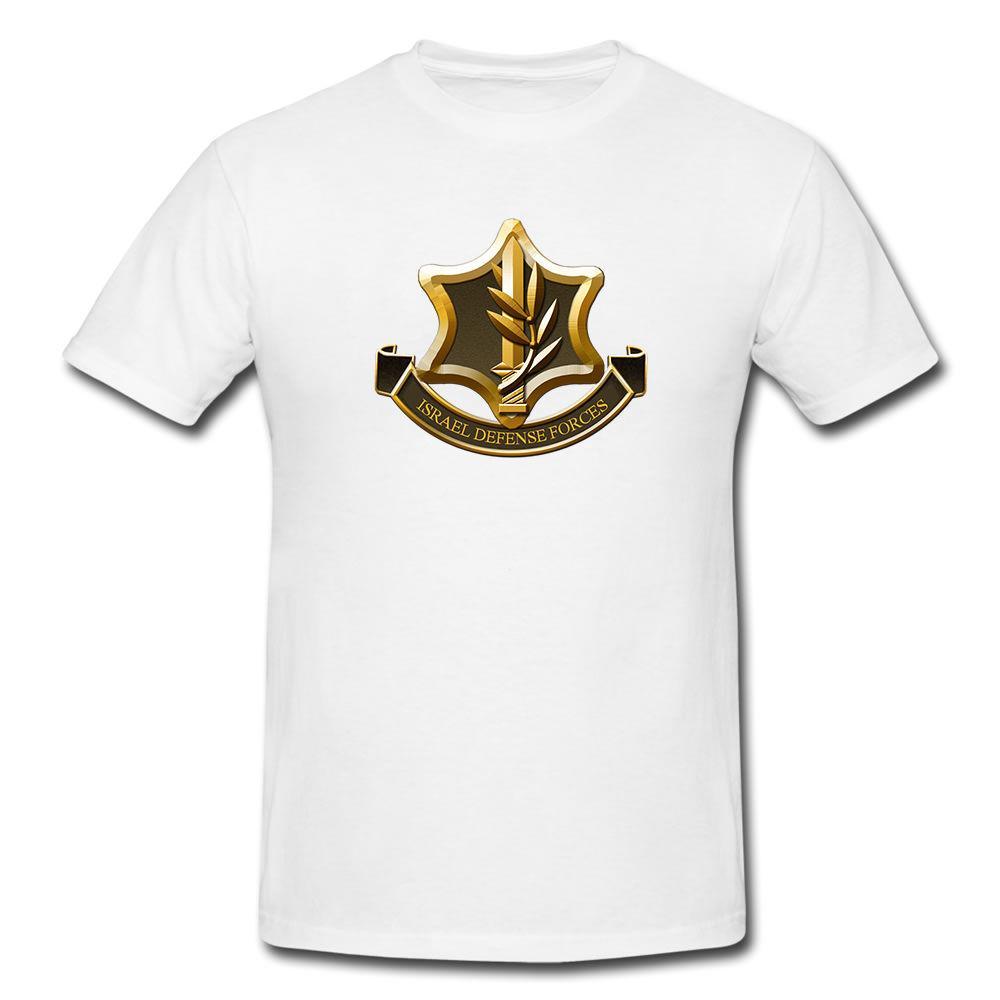 Compre Verão Venda Quente Do Exército T Camisa Dry Fit Manga Curta Branco  Israel Forças De Defesa Idf Zahal Militar Roupas Masculinas T Shirt De  Manga Curta ... e5536184b14a0