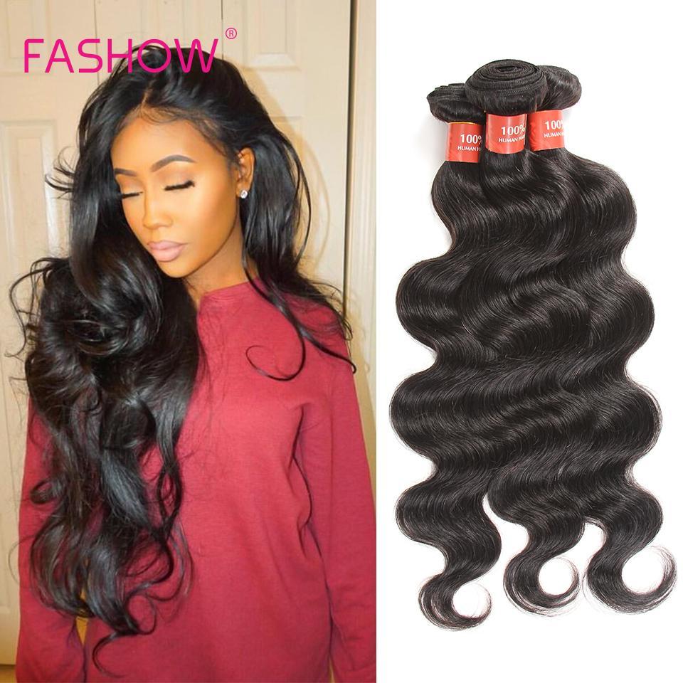 8a Brazilian Virgin Hair Weave Bundles Body Wave 4picfashow Hair