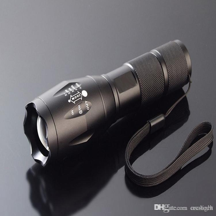 rechargeable T6 L2 LED Torch light LED Flash Lamp CREE XM-L L2 Aluminum Waterproof Zoomable Flashlight led Torches light