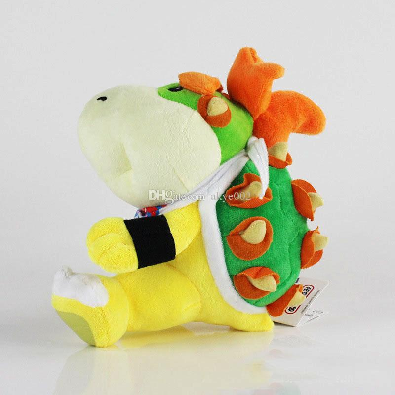Hot Sale 16cm Monster King Koopa Super Mario Bros Plush Stuffed Doll Toy For Kids Best Holiday Gifts