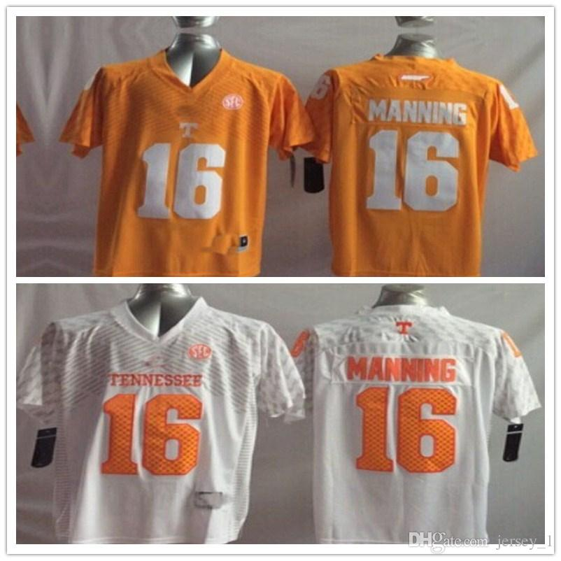 33054d30e Youth 16 Peyton Manning Kids Boys Children Tennessee Volunteers College  Football Jersey 7 Jadeveon Clowney 21 Marcus Lattimore Football Jerseys  Online with ...
