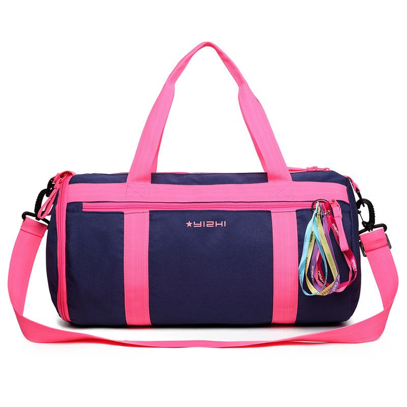 679e1b41943c 2019 Female Nylon Waterproof Gym Bag EVA Material Separated From Wet Dry  For Women Yoga Fitness Training Swimming Travel Sport Bags From Lvmangguo