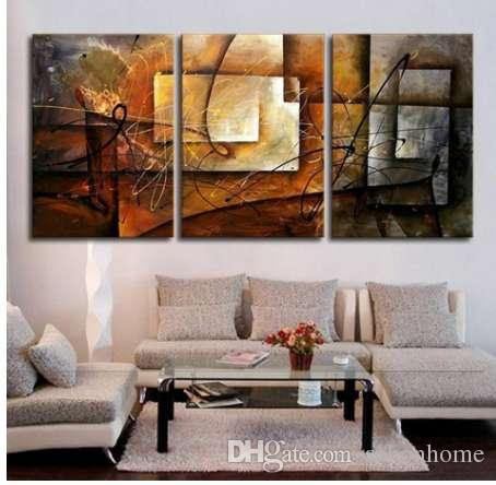 Retro Abstract Canvas Painting Wine Grape Fruit Vintage Wall Art Picture 3 Panel
