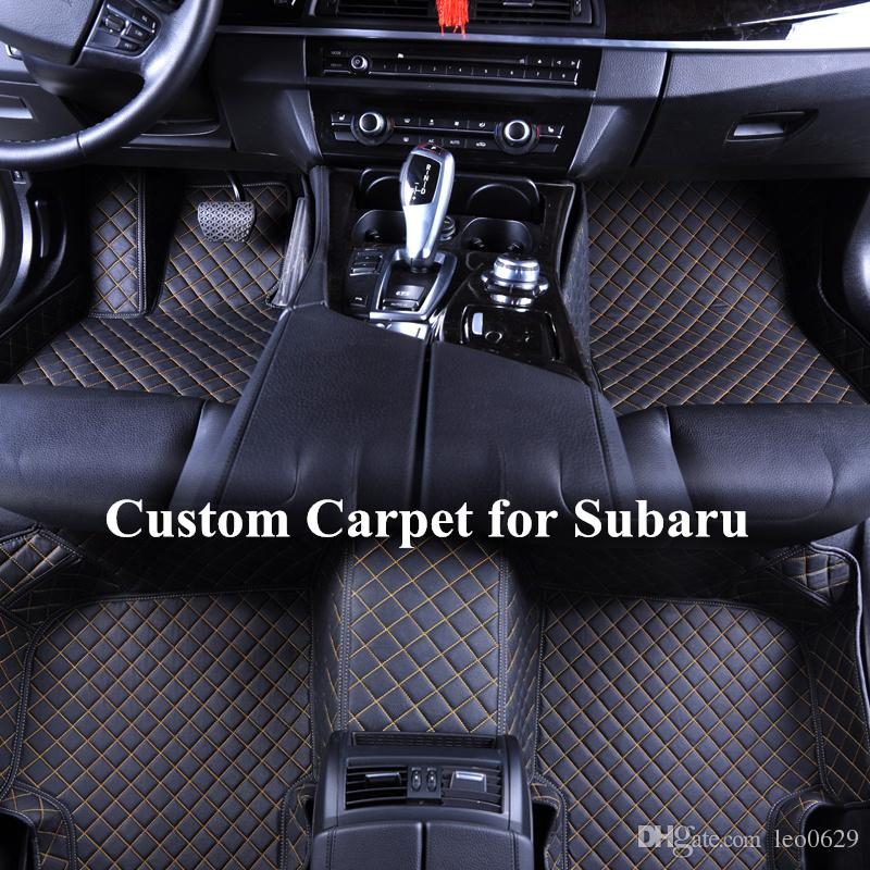black part p subaru off no floor carpeted mats outback color