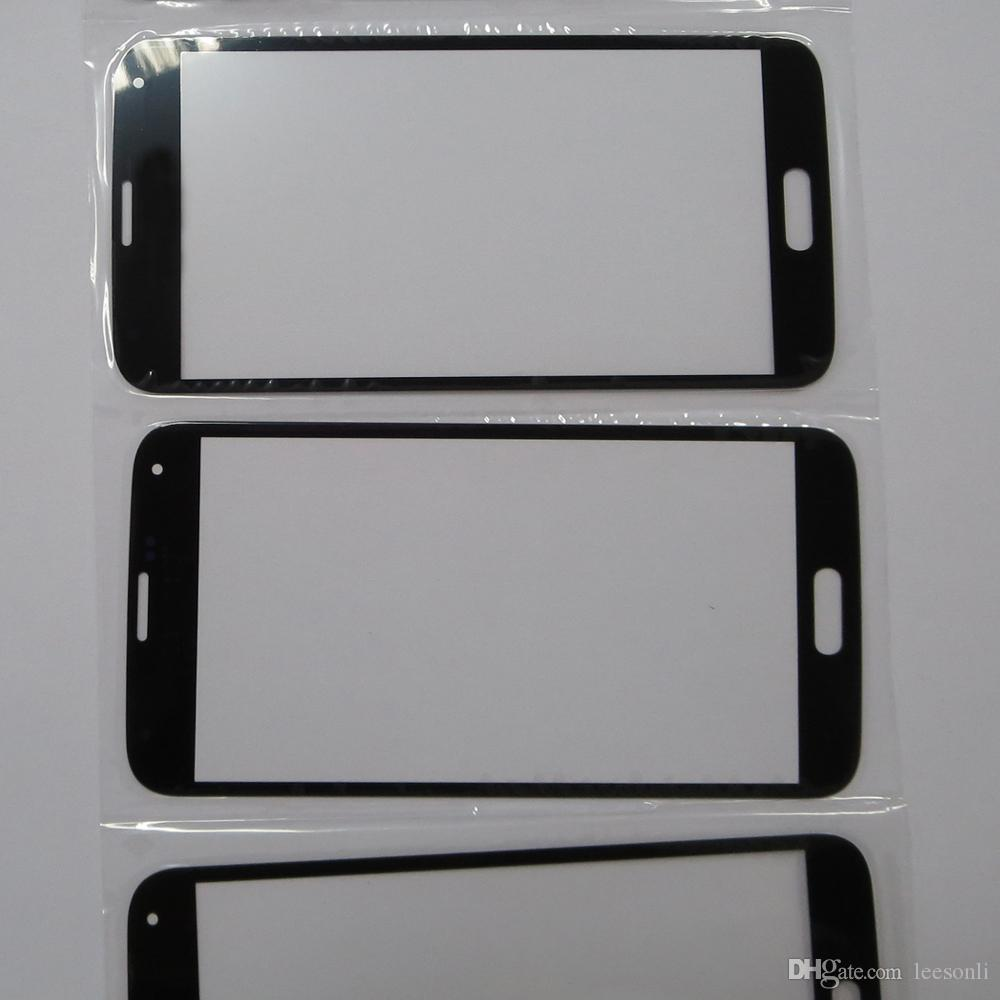 Front Touch Screen Lens Panel Top Touch Glass Part Replacement For Samsung S5 Cracked Screen Replacement