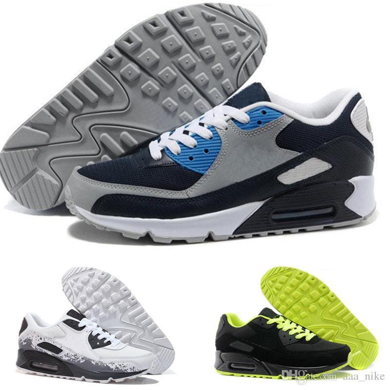 quite nice 8dd9f 23998 Großhandel Nike Air Max 87 Airmax 87 Top Qualität Männer Turnschuhe Schuhe  Classic 90 Männer Laufschuhe Großhandel Drop Shipping Sport Trainer  Luftpolster ...
