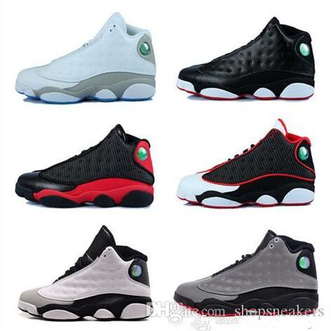 e90deead4bd Discount 13s XIII Man Basketball Shoes Hologram Barons Bred He Got ...