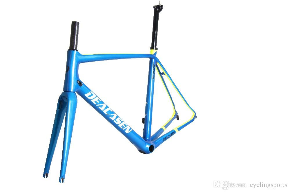 Deacasen Road Frame For Sale T800cheap 2018 Di2&Mechanical Carbon ...