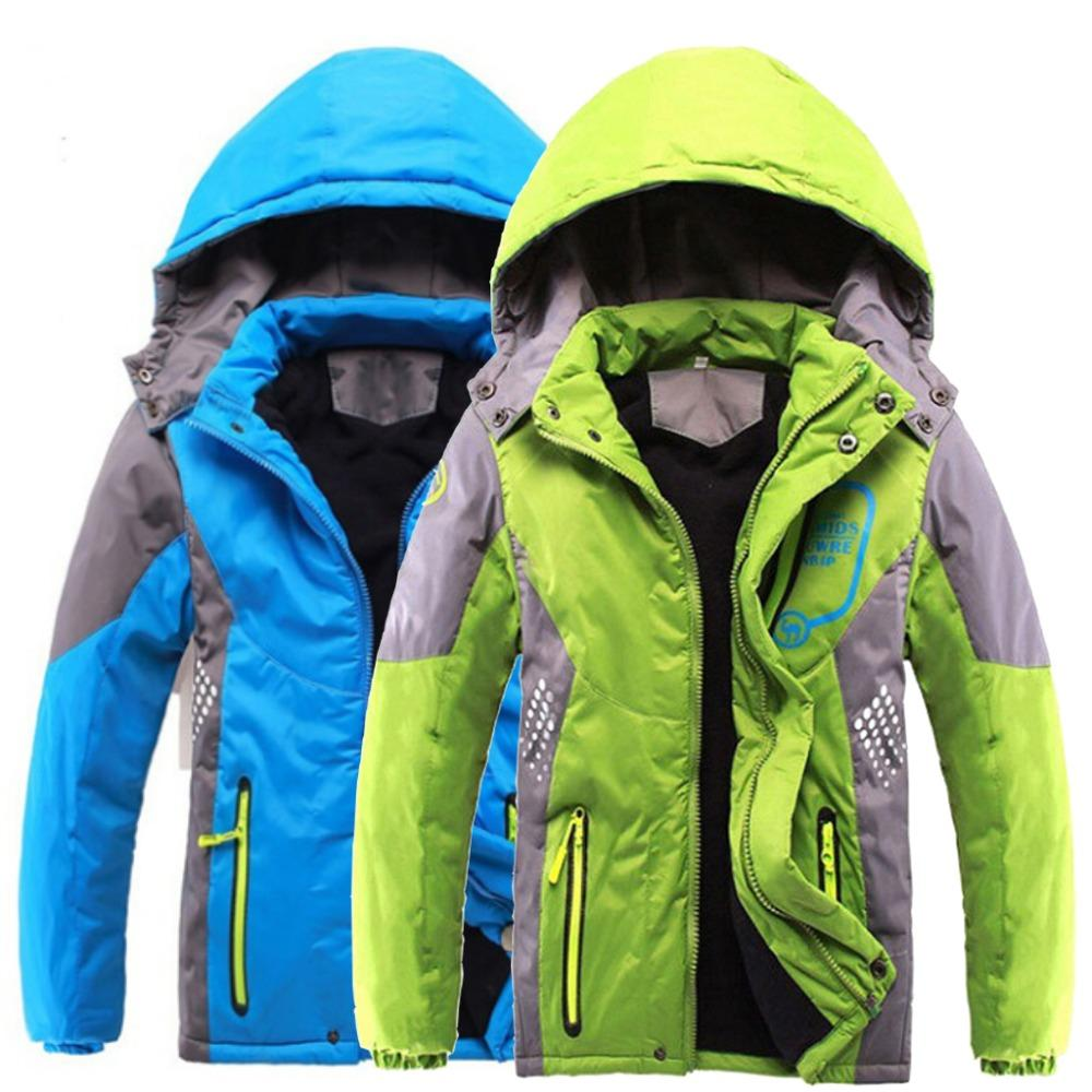 a96adc167 Children Outerwear Warm Coat Sporty Kids Clothes Double Deck ...