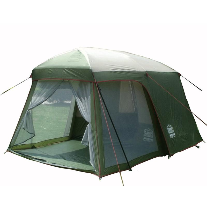 Double Layer Garden Tent 3 4 Person Large Family Camping China Outdoor Leisure Seasons Tourist Waterproof Tents 2 Rooms Pet Shelters Near Me Puppy
