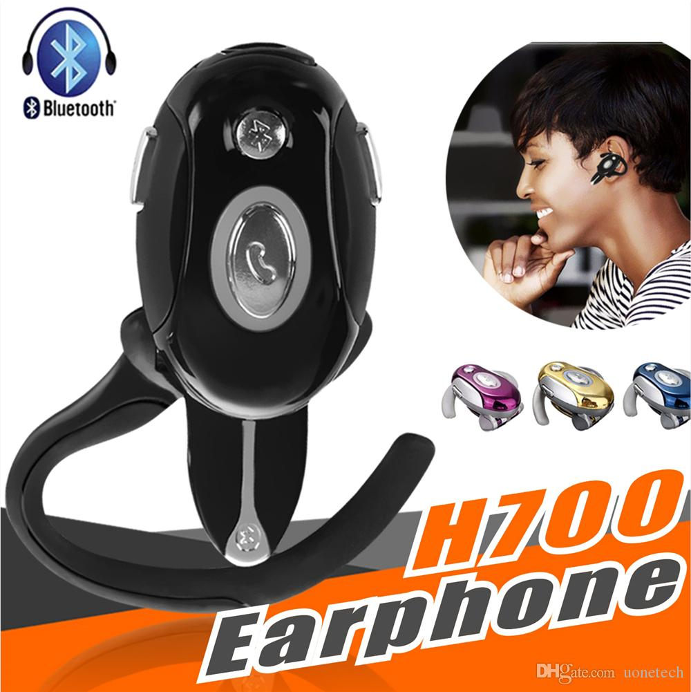 Universal Wireless Bluetooth Headphones H700 Business Handsfree Earphone Folded Noise Cancelling Mic Headset For iPhone Samsung Motorola