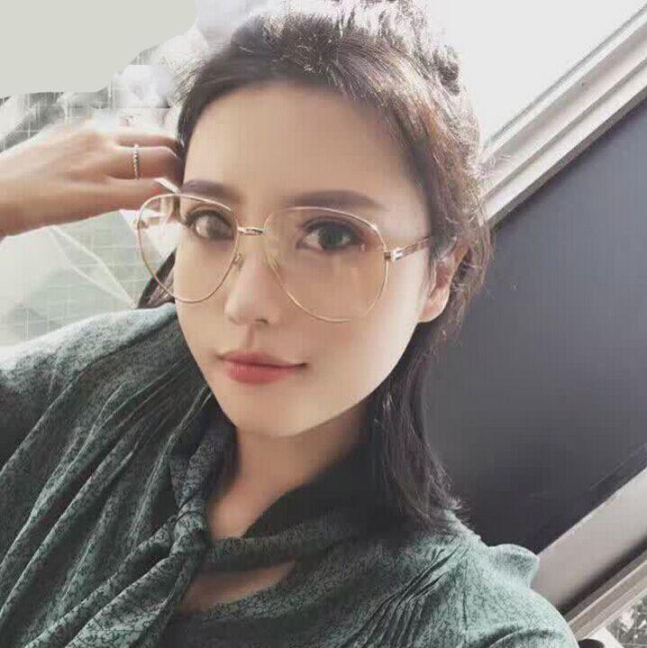 8a0503e290 2017 New Men Classic Eyeglasses Rose Gold Metal Spectacle Frame Clear  Glasses Women Optical Glasses Frame Oculos Gafas Canada 2019 From Haydena