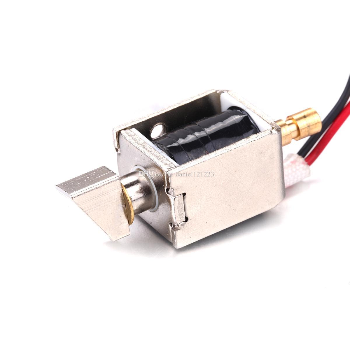 DC 12V 0.43A / 2A Mini Electric Bolt Lock Cabinet Small Cabinet Lock / Solenoide Door Lock, DC 12V, 0.43A