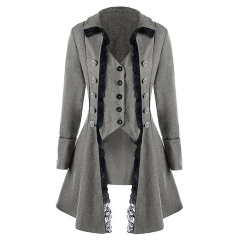 Vêtements et accessoires Style Victorien Femme Élégant Slim