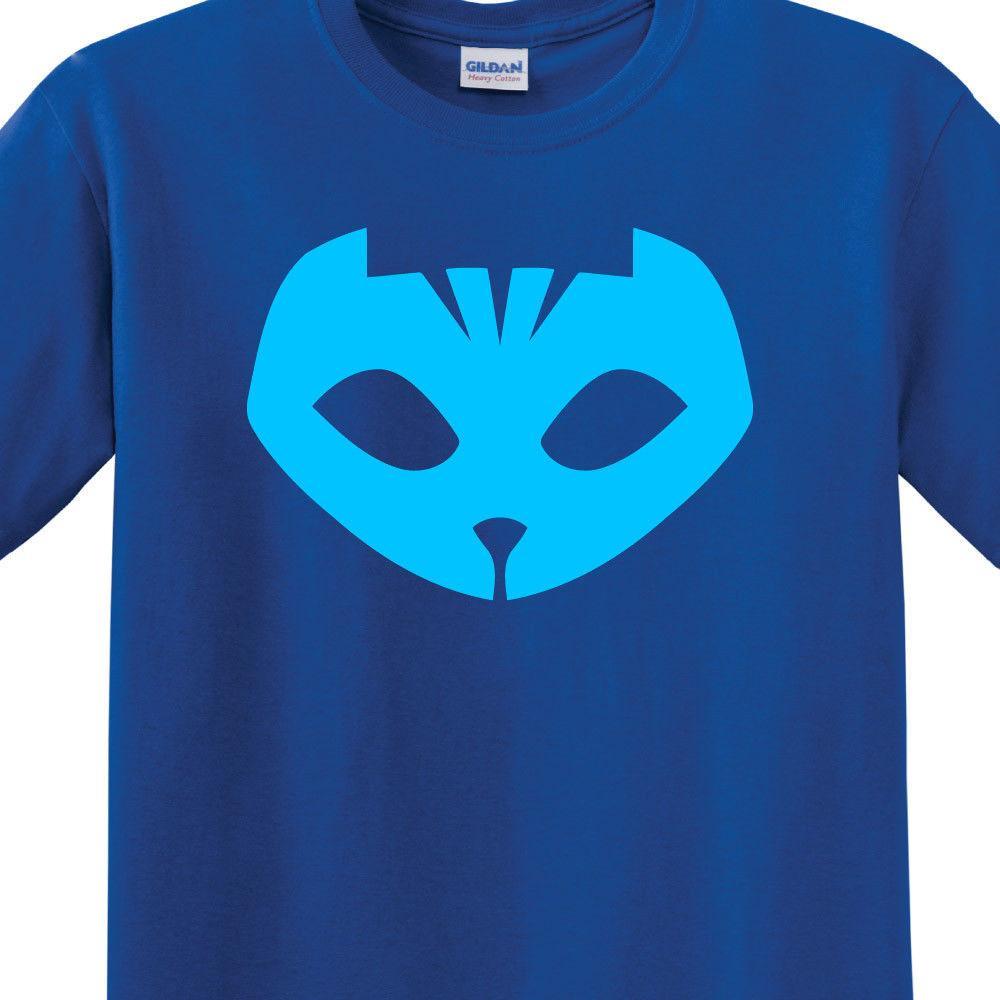 03c0d481d PJ Masks - Catboy | Royal Blue T-Shirt | Womens + Mens Sizes | Halloween  CostumeFunny free shipping Unisex Casual gift