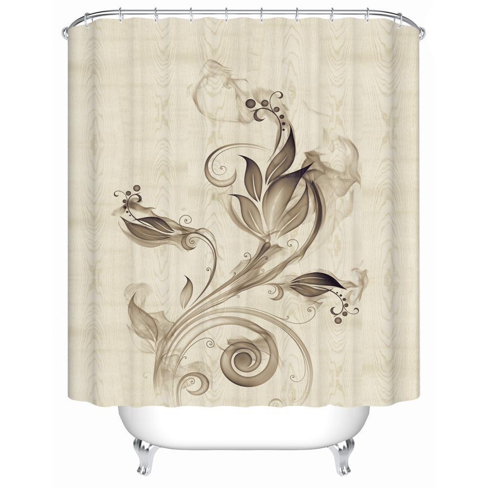 2018 2016 New Waterproof Shower Curtain High Quality Bathroom ...