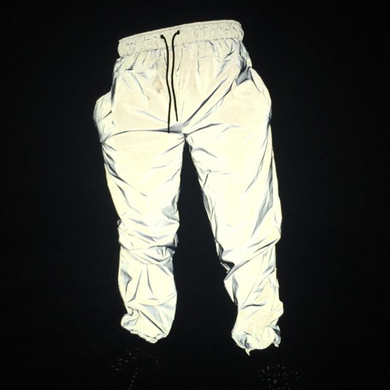dd066517d22852 Acquista ABOORUN 3M Joggers Riflettenti Pantaloni Hip Hop Impermeabili Da  Uomo Pantaloni Sportivi Fluorescenti Da Notte X499 A $43.0 Dal Sugarlive |  DHgate.