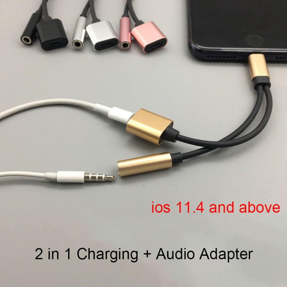 Adaptador de Auriculares de 3.5 mm para iPhone 77Plus88
