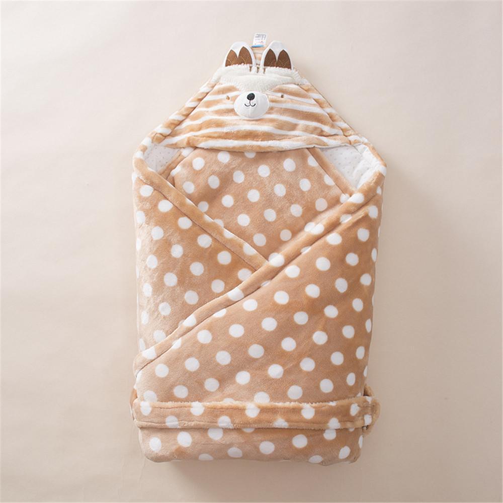 e979fb03b Flannel Baby Oversize Sleeping Bags Winter Envelope Newborn Wrap ...