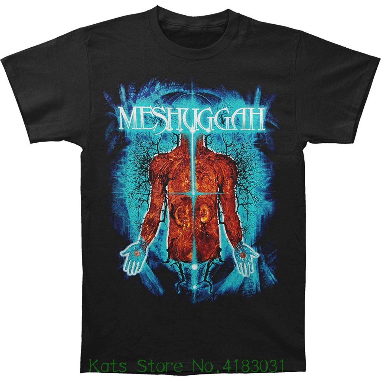 Meshuggah Mens Branches Of Anatomy T Shirt Black Streetwear Funny