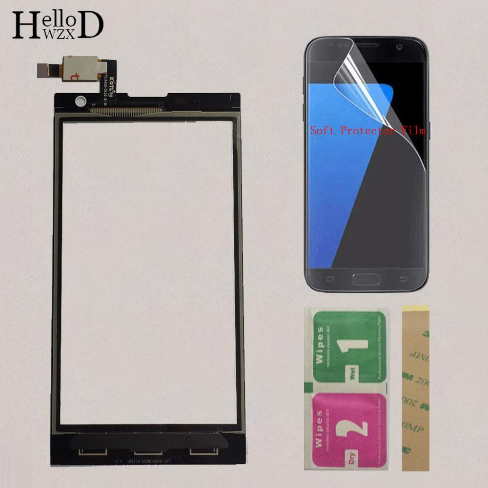 new arrival 71a9a 12259 Touchscreen Touch Screen For ZTE Blade G LUX V830W For ZTE Kis 3 Max V830  V830W Touch Screen Digitizer Front Glass Sensor Panel