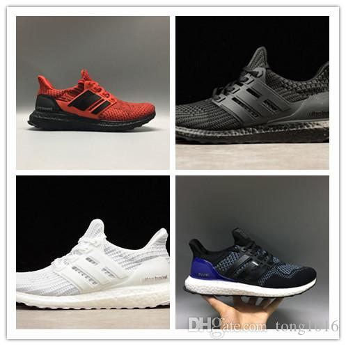 sast cheap online 2018 New Ultra Boost 4.0 Black White Core Triple Primeknit Runner Mens Ultraboost Running Shoes Men Women Sports Shoe Sneakers buy cheap pay with paypal qyuJXUlJ