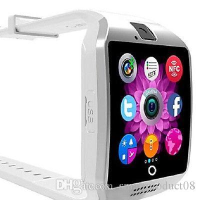 1750f63dee65 Watch Relojes Q18 Reloj Inteligente Con Pantalla Táctil Con Soporte Para  Cámara De Tarjeta SIM TF Para Android Teléfono Bluetooth Smartwatch PK A1  DZ09 Y ...