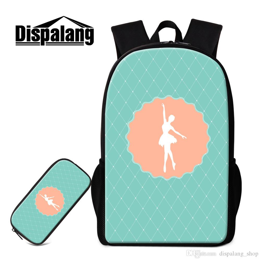 59e6a2032117 School Backpack And Pencil Bag Patterns Art Lightweight Bookbag For Middle  School Student Personalized Day Pack Children S Outdoor Back Pack Small  Backpack ...