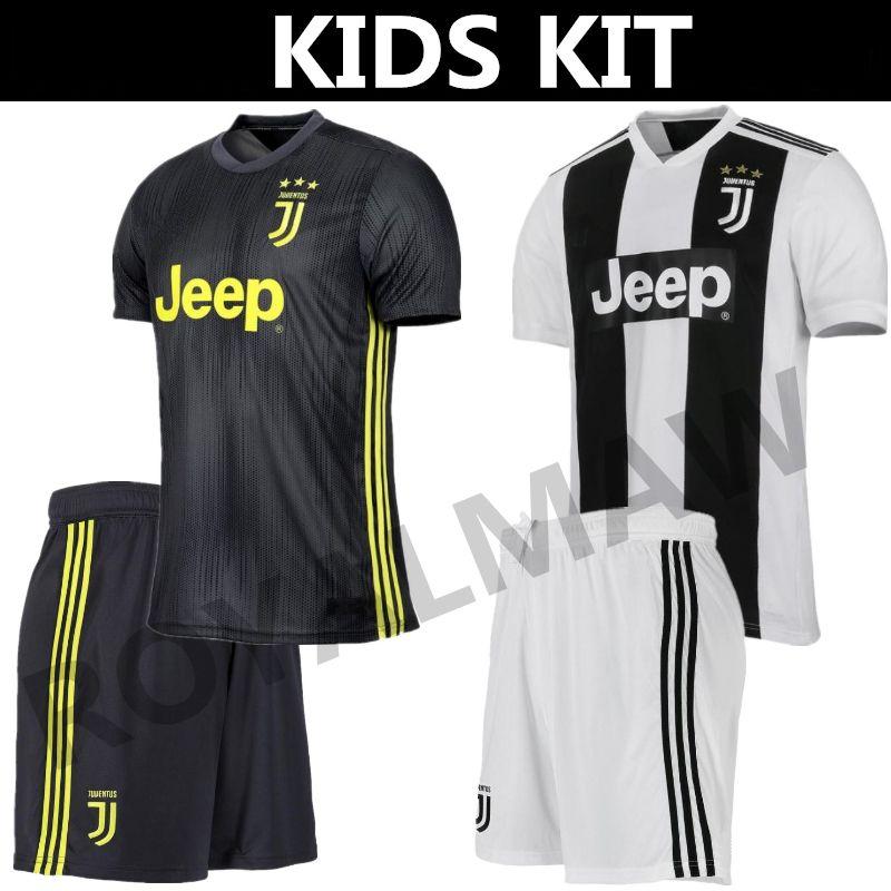 900dc30f1 2019 New Juventus Kids Kit Soccer Jersey 1819 Junior Shirt Shorts Set Home Third  Child Youth 2019 CR7  7 RONALDO 10 DYBALA PJANIC BONUCCI Uniform From ...