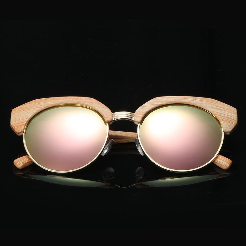 fc215a87d0558c 2018 New Brand Designer Half Frame Polarized Sunglasses Colorful ...