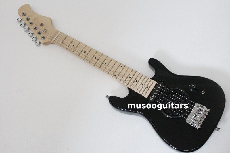 New Brand Electric Travel Electric Guitar With Integrated Speaker