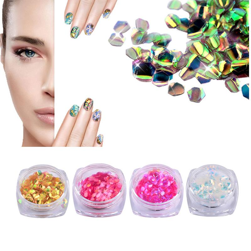1pcs Colorful Shiny 3D Nail Art Decoration Nail Art Glitter Colorful Fish Scales Sequins Mixed Color Sequins Rhinestone DIY