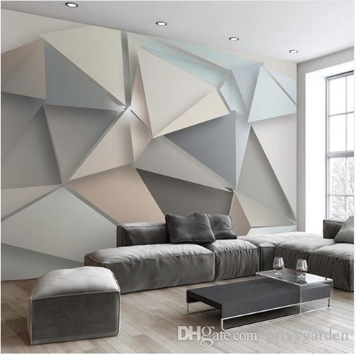 gro handel foto wand papier 3d modern tv hintergrund wohnzimmer abstrakt kunst wandbild. Black Bedroom Furniture Sets. Home Design Ideas