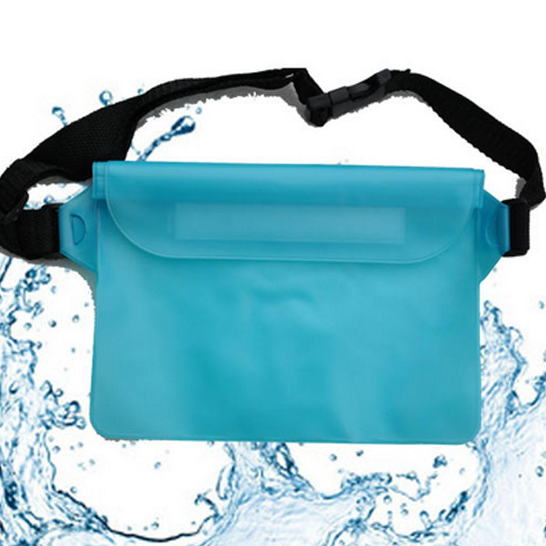 Casual Unisex Led Waist Bag Waterproof Shine Night Running Usb Pouch Pockets Exercise Home