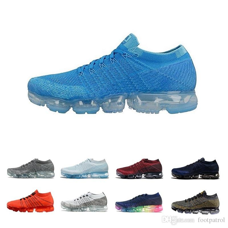Wholesale Vapormax 2018 Men Women Running Shoes Athletic Sport Men Sneakers Hot Corss Hiking Jogging Size 97 36-47 clearance wholesale price cheap sale wide range of QDCElkR