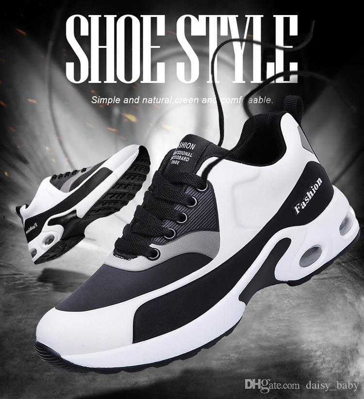 Big Size 2018 Spring Boys Casual Shoes Air cushion Sport Shoe for Girl's shoe Breathable Sport Shoes Student Sneakers #2