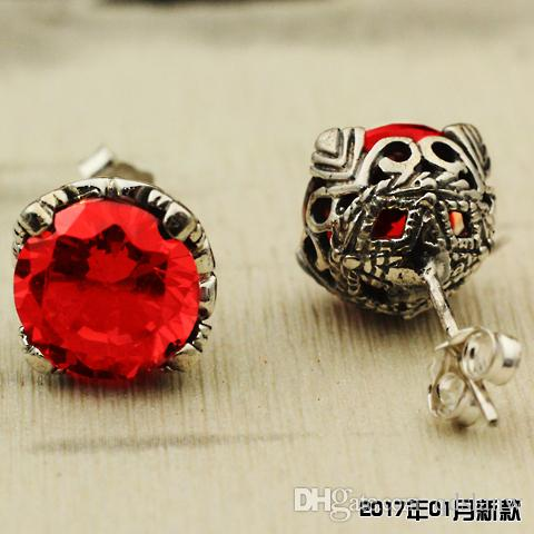 Wholesale jewelry accessories discount American and Europe style 925 sterling silver women stud earrings post earring cc jewelries for lady